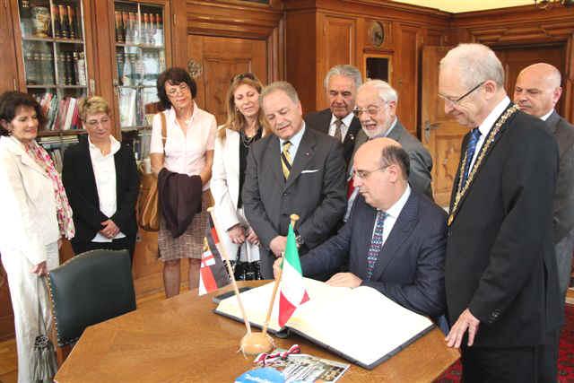 Generalkonsul aus Italien zu Besuch